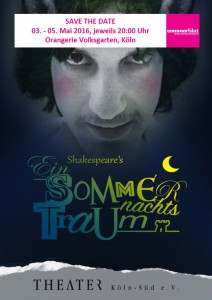 Save the date Sommernachtstraum Sommerblut